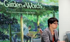Makoto Shinkai : Chat sur pétale de cerisier