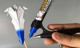 Un nouvel outil de peinture pour ses Gunplas